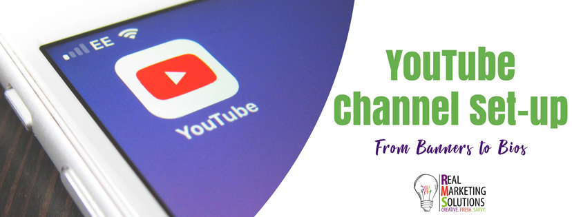 YouTube Channel Set-up: Banners