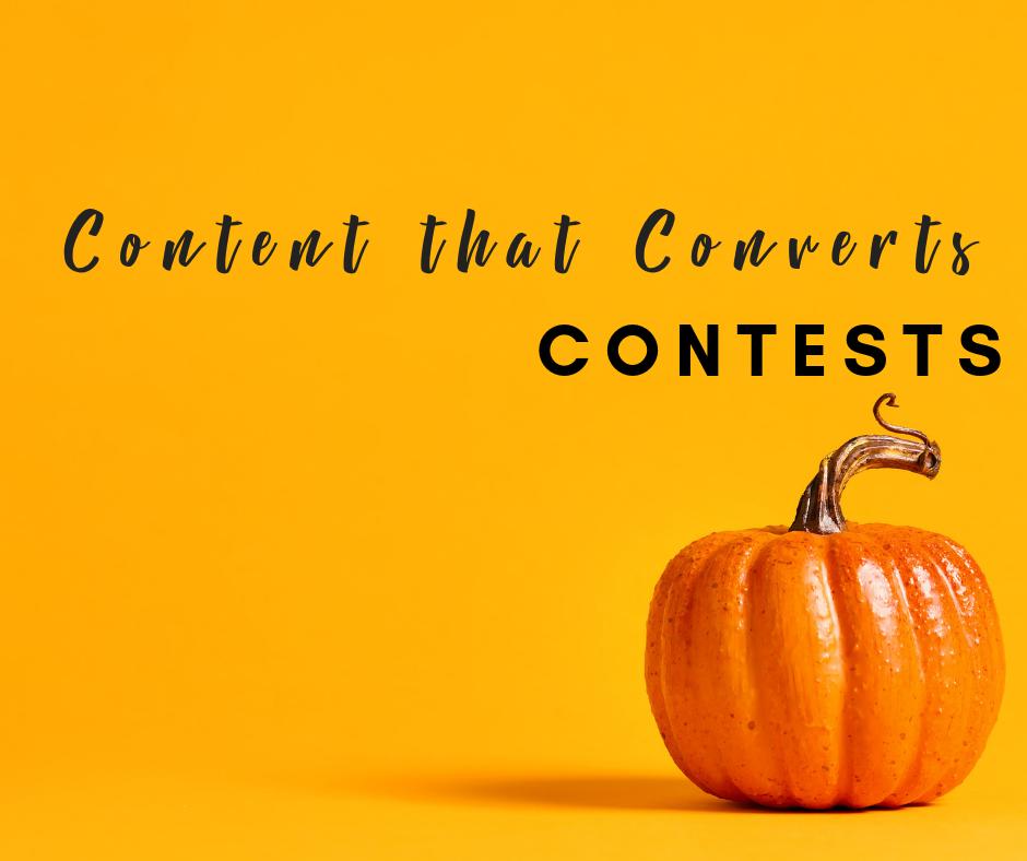 Content that Converts:  Social Media Contests