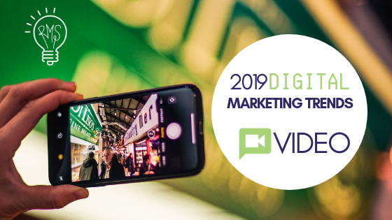 Digital Marketing Trends for 2019: Videos = Top-Rated Content