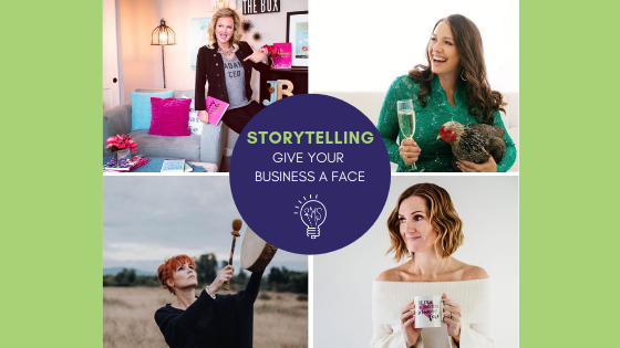 Storytelling – Give Your Brand a Face